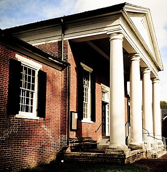 Nottoway County Courthouse - Image: Nottoway County Courthouse