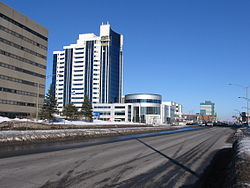 Boulevard Laurier in Sainte-Foy