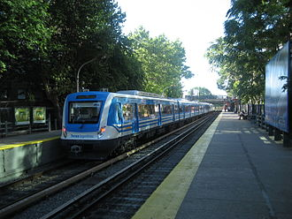 CSR Corporation Limited - A CSR Electric Multiple Unit on the Mitre Line in Argentina.