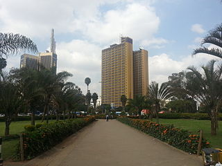 Nyayo House building in Africa