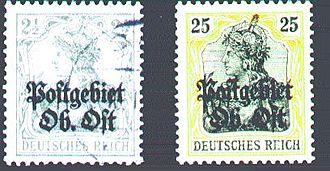 Ober Ost - Postage stamps Ober Ost