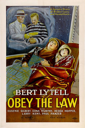 Obey The Law - Obey The Law theatrical poster