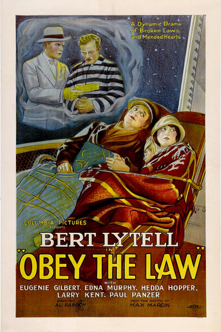 Poster for Obey the Law Obey The Law film poster.jpg
