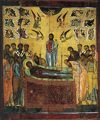 Dormition of the Mother of God - Image: Oblachnoe