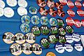 Occupy Wall Street Buttons Pins 2011 Shankbone.JPG