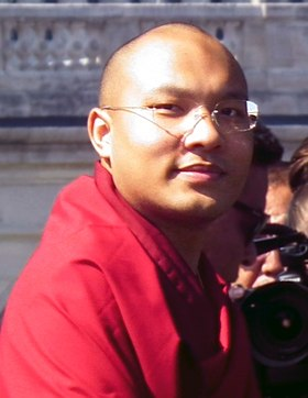 Его Святейшество Кармапа XVII  Ургьен Тринле Дордже  His Holiness Ogyen Trinley Dorje, the 17th Gyalwa Karmapa