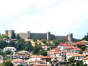Samuel's Fortress, Ohrid - Image: Ohrid samuilova krepost