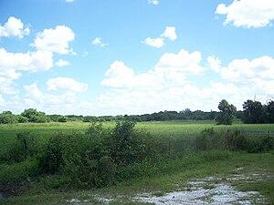 Battle of Lake Okeechobee - Okeechobee Battlefield today