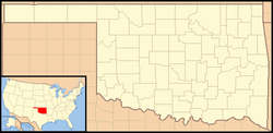 Oklahoma City is located in Oklahoma