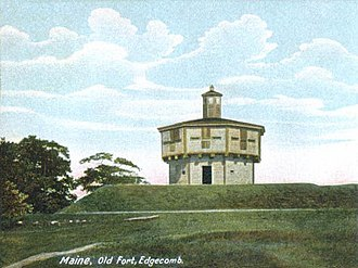 Fort Edgecomb - Fort Edgecomb in 1905
