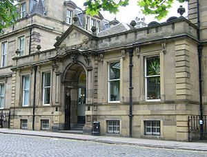 George Watson's College - George Square Melville House, built in 1871 on the site of Admiral Duncan's house, was the home of George Watson's Ladies College until sold to Edinburgh University in 1974.
