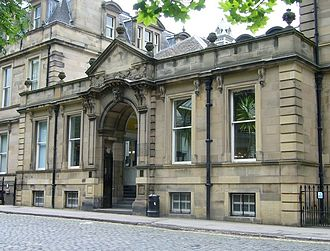 Charlotte Ainslie - George Square Melville House, built in 1871 on the site of Admiral Duncan's house, was the home of George Watson's Ladies College