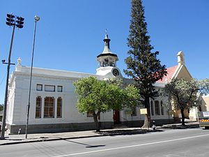 James Bisset (mayor) - Beaufort West's Town Hall, an early work of James Bisset.