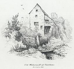 Old Watermill at Caerleon. As it stood in 1842