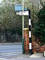 Old road sign, Clifton Street, Swindon - geograph.org.uk - 1099246.jpg
