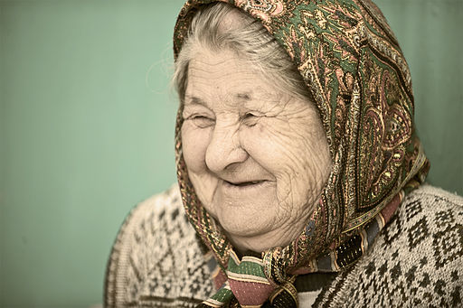 Old woman in Kyrgyzstan (2010)
