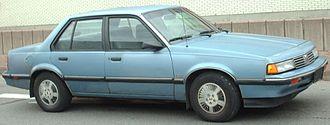 Oldsmobile Firenza - 1988 Oldsmobile Firenza sedan