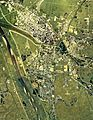 Omagari district Daisen city center area Aerial photograph.1976.jpg