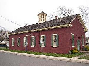 New Columbia, Pennsylvania - Image: One Room Schoolhouse