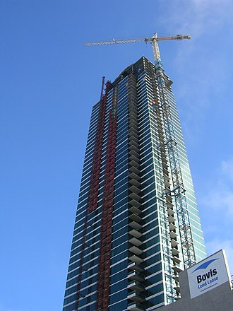 One Rincon Hill - South tower in mid-July 2007
