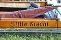 Open rondvaartboot STILLE KRACHT uit 1917 bij de erfgoed manifestatie 2017 van de LVBHB in Hasselt (01).JPG