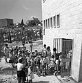 Opening day of the new Arlosoroff school next to Jerusalem Independence Park.jpg