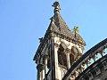 Opposite to the convocation hall is clock tower, Mumbai university 3.jpg