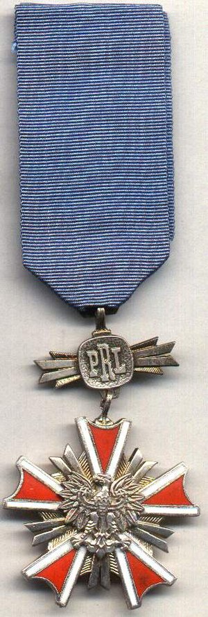 Order of Merit of the Republic of Poland - The People's Republic of Poland version of the order (5th class)