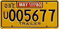 Oregon 1980 Utility Trailer license plate.jpg