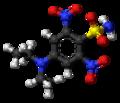 Oryzalin molecule ball.png