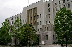The assembly hall is on the 2nd floor of the Osaka Prefectural Government Main Building[1]