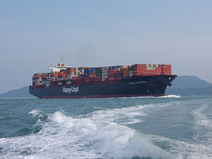 Osaka Express Container Ship