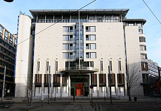 Trial of Anders Behring Breivik - Oslo Courthouse, where the trial was held