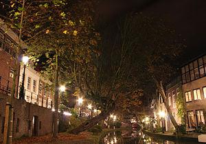 Oudegracht - Image: Oudegracht (Utrecht)