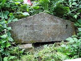 Cmentarz wojenny nr 2 w Ożennej.