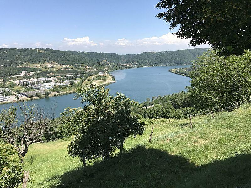 Ozon (Ardèche) en juin 2017.