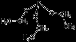 Triethylphosphite - Image: P(O Et)3