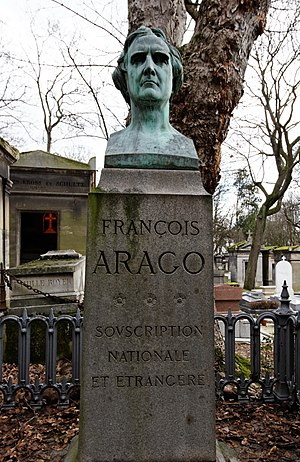François Arago - Grave of Arago at Père Lachaise Cemetery in Paris