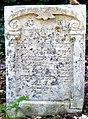 Písečné Jüdischer Friedhof.- Grabstein 2c.jpg