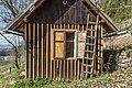 Pörtschach Winklern Quellweg altes Bienenhaus Fenster und Leiter 30032019 6287.jpg