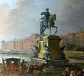 P1140645 Carnavalet Lallemand vue depuis Pont-Neuf detail statue Henri IV P194 rwk.jpg