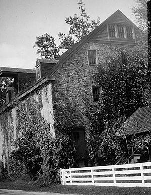 Farmar Mill - Farmar Mill, circa 1936.