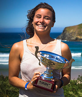 Johanne Defay French professional surfer