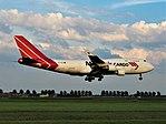 PH-MPS Martinair Holland Boeing 747-412(BCF) landing at Schiphol (EHAM-AMS) runway 18R pic3.JPG