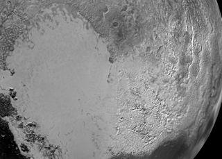 Tombaugh Regio Region on Pluto