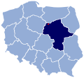 POL Żuromin location map.svg