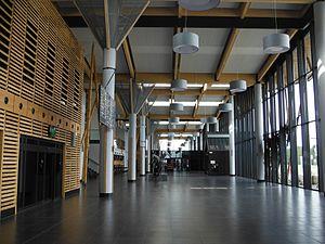 Olsztyn-Mazury Airport - Terminal interior