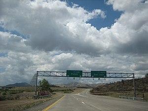 Puerto Rico Highway 53 - Southwestern terminus of PR-53 in Salinas, connecting with PR-52.