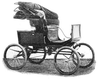 Amzi L. Barber - Locomobile model circa 1900