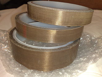 Polytetrafluoroethylene - PTFE tapes with pressure-sensitive adhesive backing